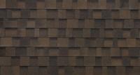Brun foncé - toiture bardeau
