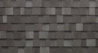 Brun et gris - toiture bardeau