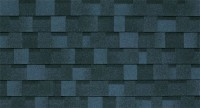 Bleu - toiture bardeau